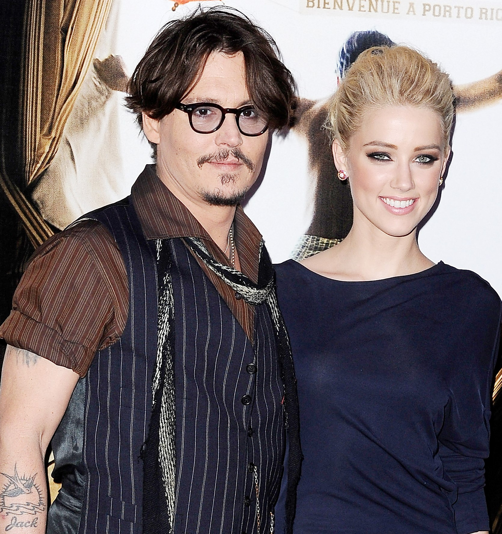 Johnny Depp y Amber Heard  pr  243 ximos a contraer nupcias Johnny Depp Amber Heard 2014